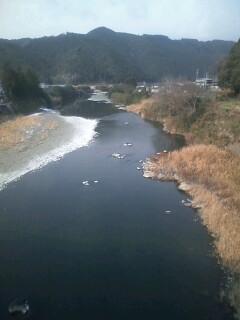 冬の四万十川