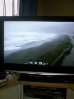 台風、右折