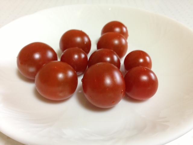 収穫物2013 プランター編 ミニトマト